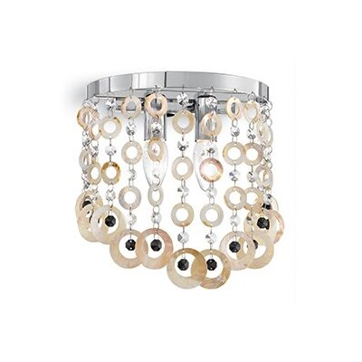Ideal Lux Pavone 2 Light Wall Lamp