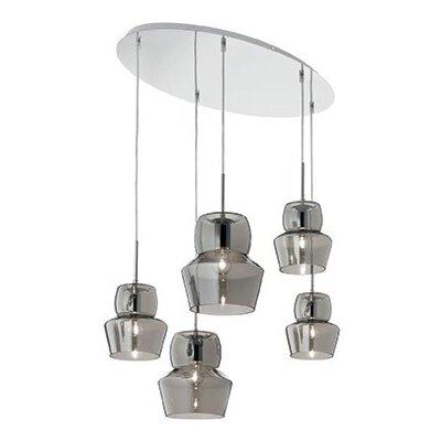 Ideal Lux Zeno 5 Light Cascade Pendant