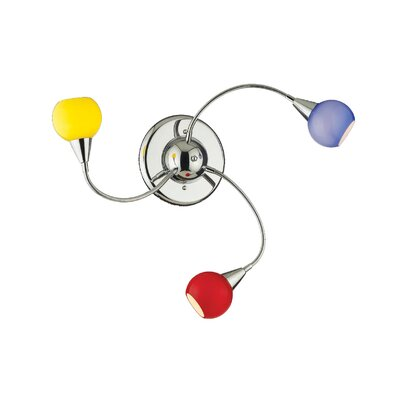Ideal Lux Tender 3 Light Wall Lamp