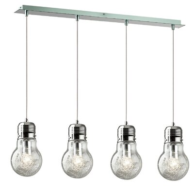 Ideal Lux Luce 4 Light Kitchen Island Pendant