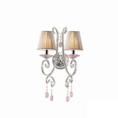 Ideal Lux Violette 2 Light Wall Lamp