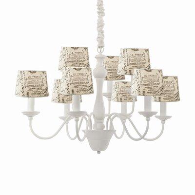 Ideal Lux 9 Light Chandelier