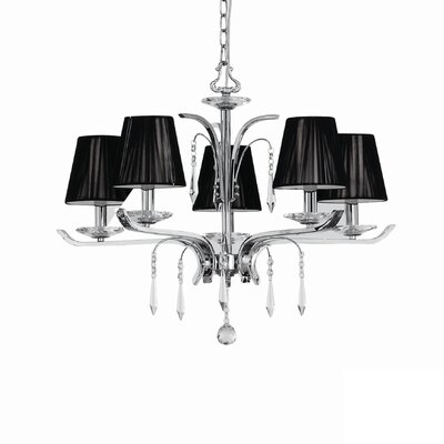 Ideal Lux Accademy 5 Light Chandelier