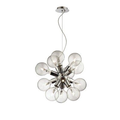 Ideal Lux Dea 12 Light Cluster Pendant