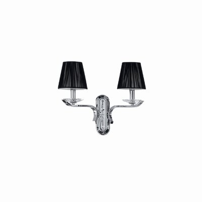 Ideal Lux Accademy 2 Light Wall Lamp
