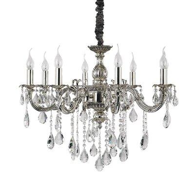 Ideal Lux Impero 8 Light CrystalChandelier