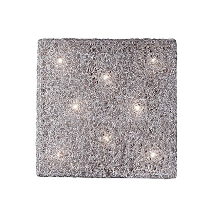 Ideal Lux Quadro 8 Light Wall Lamp