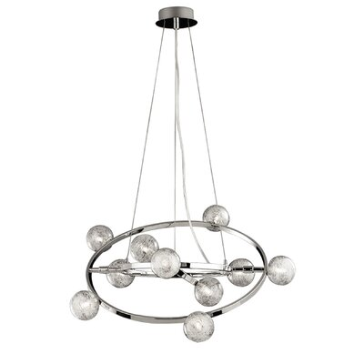 Ideal Lux Orbital 10 Light Standard Pendant