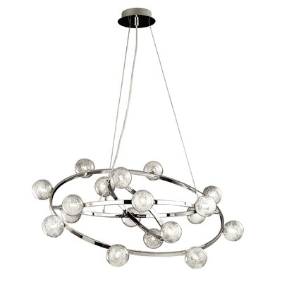 Ideal Lux Orbital 18 Light Standard Pendant