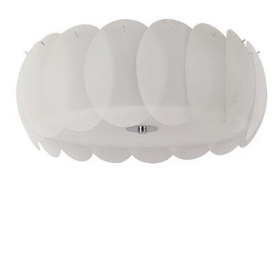 Ideal Lux Ovalino 8 Light Flush Ceiling Light