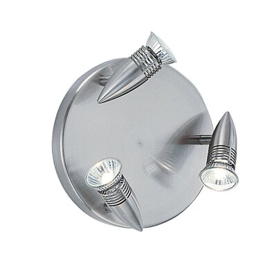 Ideal Lux Alfa 3 Light Wall Lamp