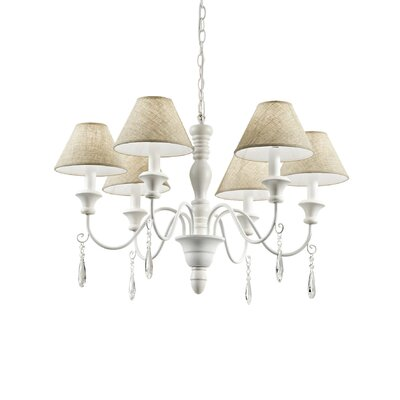 Ideal Lux Provence 6 Light Chandelier