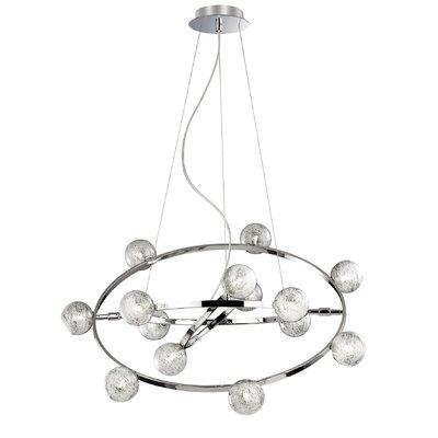 Ideal Lux Orbital 14 Light Standard Pendant