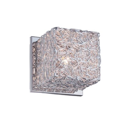 Ideal Lux Quadro 1 Light Wall Lamp