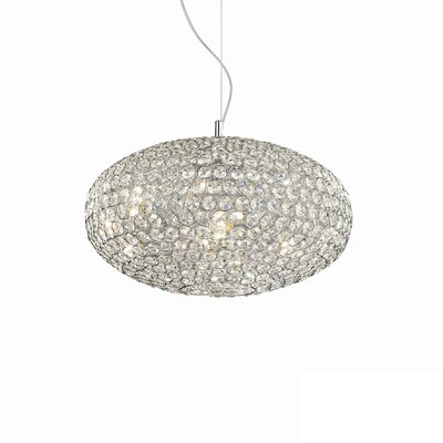 Ideal Lux Orion 8 Light Globe Pendant