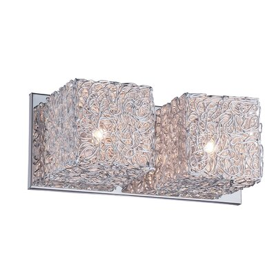 Ideal Lux Quadro 2 Light Wall Lamp