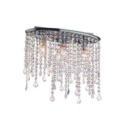 Ideal Lux Rain 3 Light Flush Light