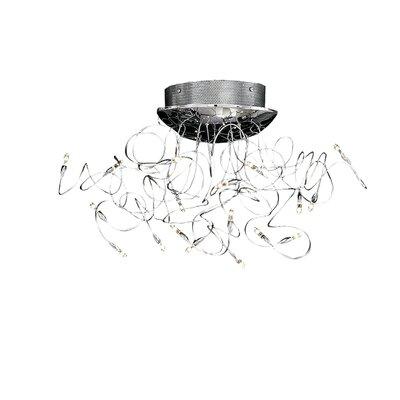 Ideal Lux Faville 18 Light Semi-Flush Ceiling Light