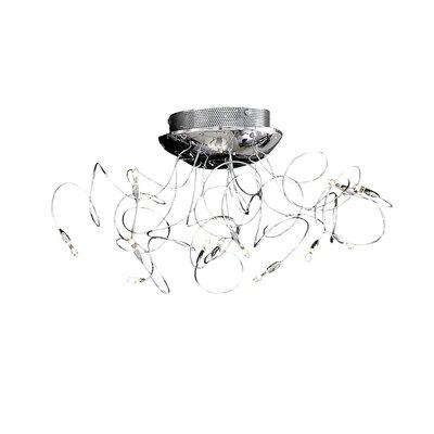 Ideal Lux Faville 12 Light Semi-Flush Ceiling Light