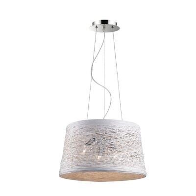 Ideal Lux Basket 3 Light Drum Pendant