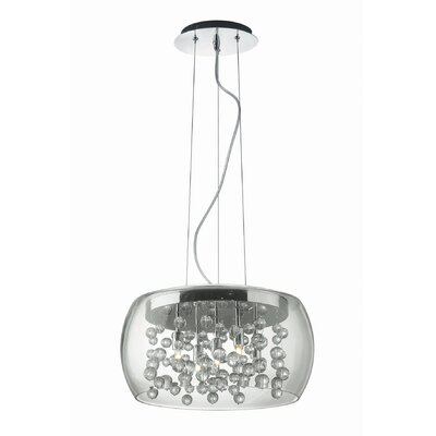 Ideal Lux Audi-80 5 Light Inverted Pendant