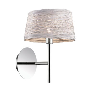 Ideal Lux Basket 1 Light Wall Lamp
