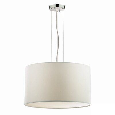 Ideal Lux Wheel 5 Light Drum Pendant