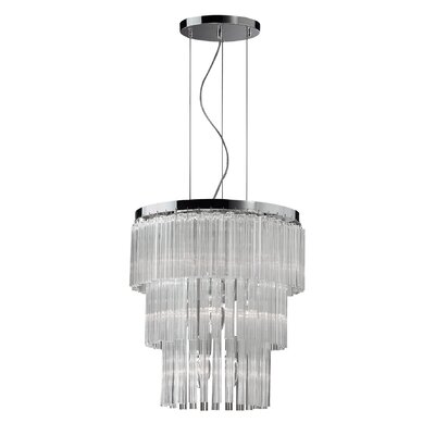 Ideal Lux Elegant 12 Light CrystalChandelier