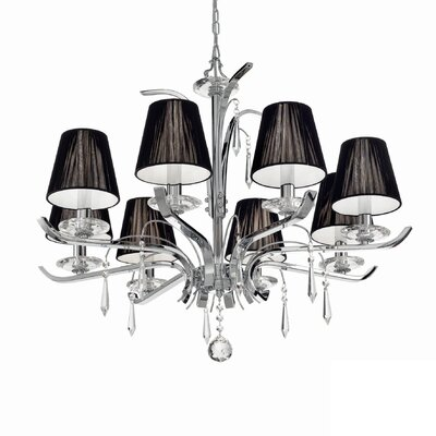Ideal Lux Accademy 8 Light Chandelier