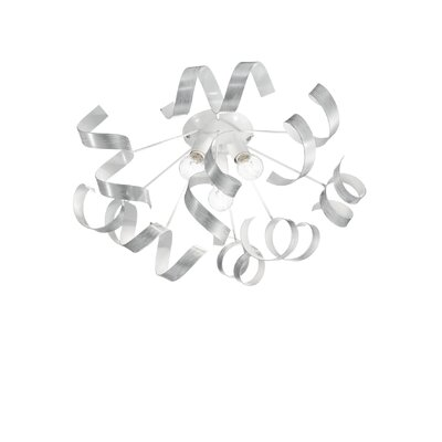 Ideal Lux Vortex 3 Light Semi-Flush Light