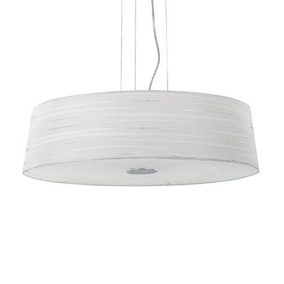 Ideal Lux Isa 6 Light Drum Pendant