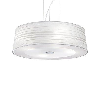 Ideal Lux Isa 4 Light Drum Pendant