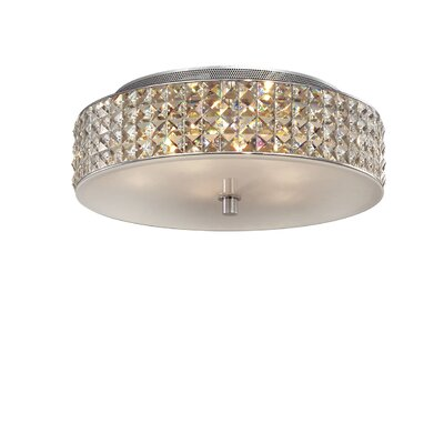 Ideal Lux Roma 6 Light Semi-Flush Ceiling Light
