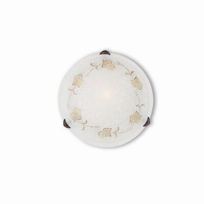 Ideal Lux Foglia 1 Light Wall Lamp