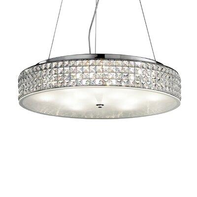 Ideal Lux Roma 12 Light Drum Pendant