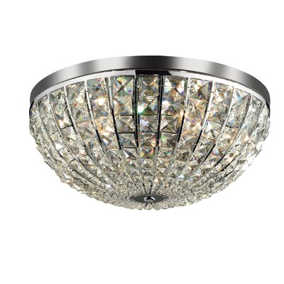 Ideal Lux Calypso 6 Light Flush Ceiling Light