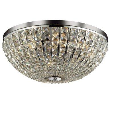 Ideal Lux Calypso 8 Light Flush Ceiling Light