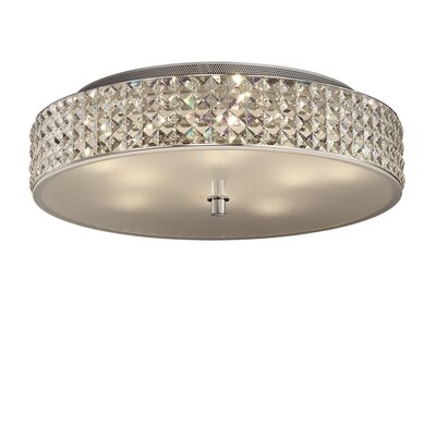 Ideal Lux Roma 9 Light Semi-Flush Ceiling Light