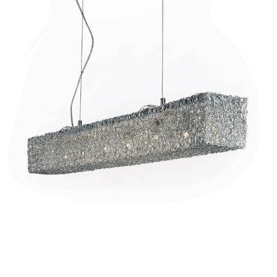 Ideal Lux Quadro 6 Light Standard Pendant