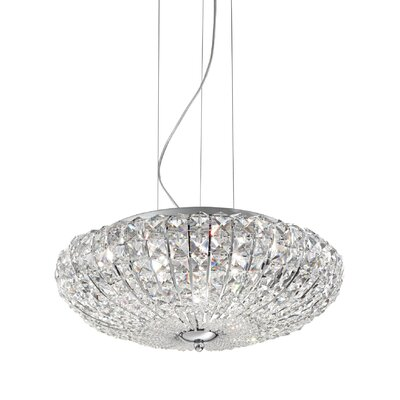 Ideal Lux Virgin 6 Light Standard Pendant