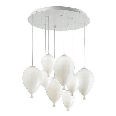 Ideal Lux Clown 8 Light Cascade Pendant