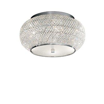Ideal Lux Pasha 6 Light Flush Ceiling Light