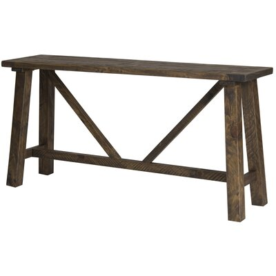 Myrtlewood Console Table