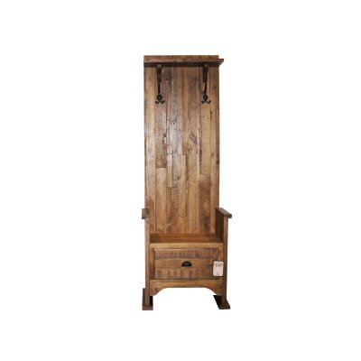 Laury Single Hall Wood Storage Bench