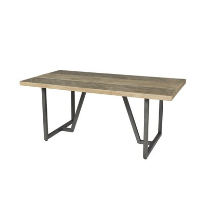 Laforge Dining Table Top Color: Light Brown