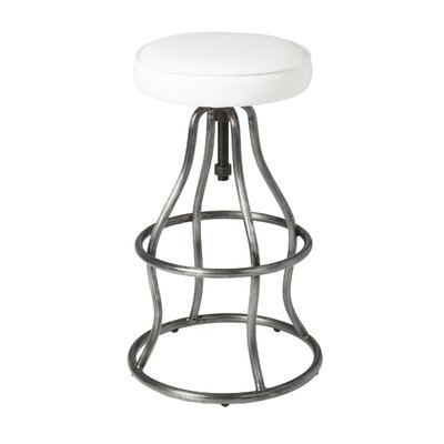 Bessette Adjustable Height Swivel Bar Stool