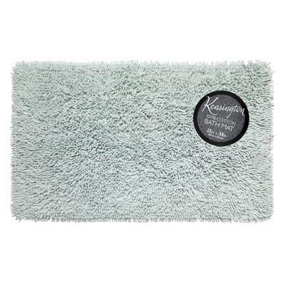 Shaggy Cotton Chenille Bath Rug Color: Spa Blue