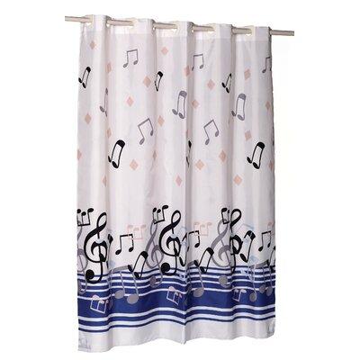 EZ-ON Blue Note Shower Curtain