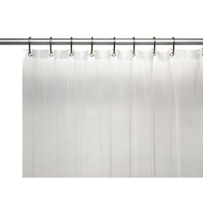 PEVA 6 Gauge Shower Curtain Liner Color: Super Clear