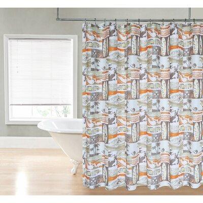 Delanie Surfer Dude Shower Curtain